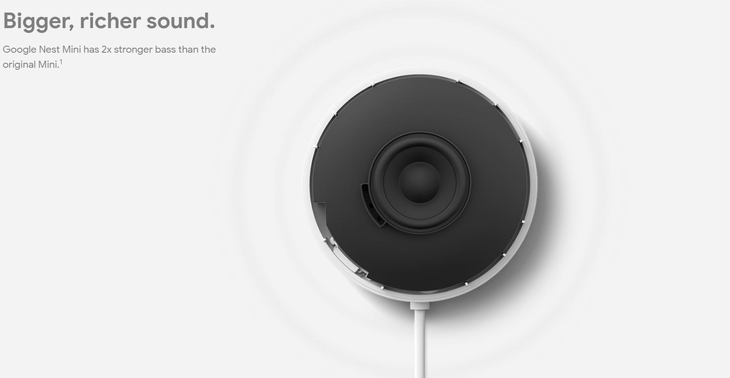 Google Nest Mini (2nd Gen) Hands-Free Smart Speaker - Chalk | LaptopOutlet,  UK