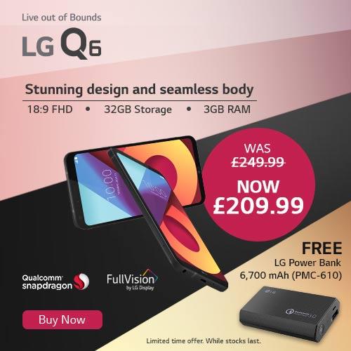 LG Q6 Promo