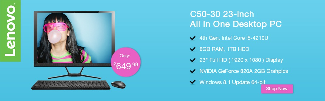 Lenovo C50-30 All in One PC
