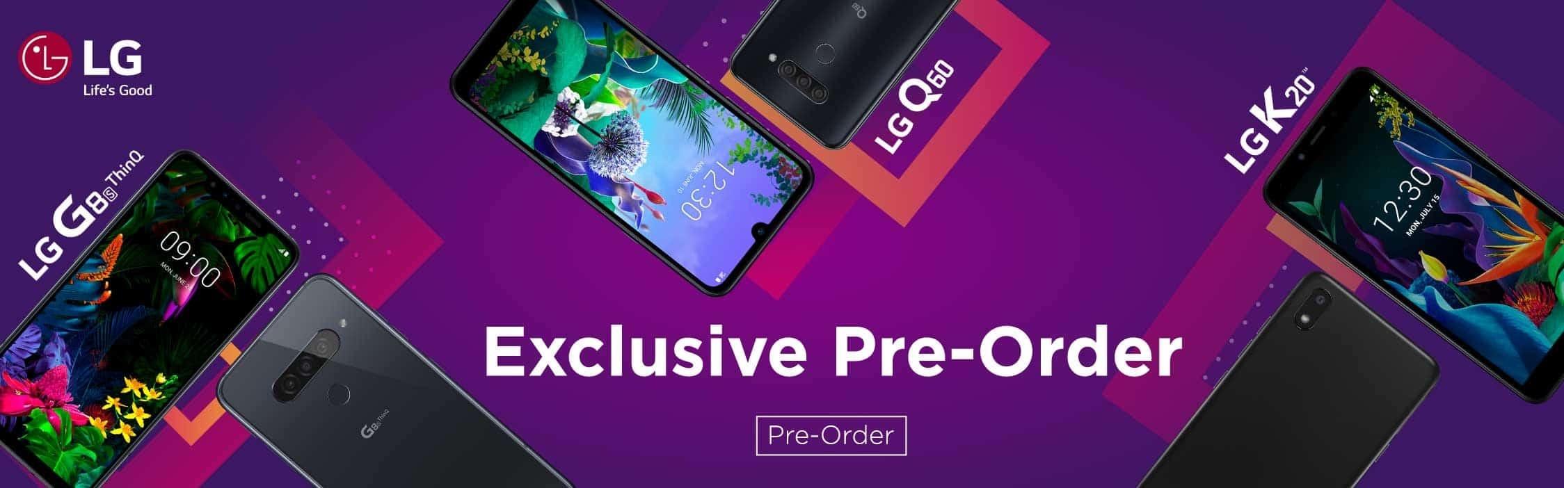 LG Pre Order