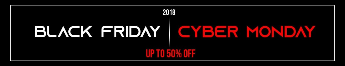 Black Friday - Cyber Monday 2018