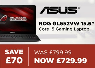 ASUS ROG GLL552VW