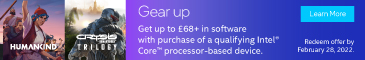 Gear Up with Intel