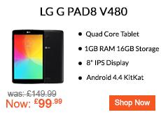 LG G Pad Tablet